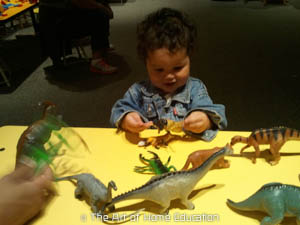 Denver Museum of Nature & Science. Midiman had caught the dino-v