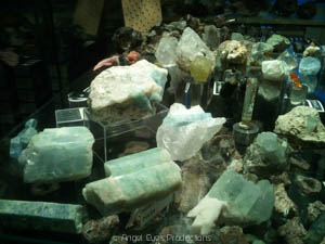 Excursion in a private mineral museum