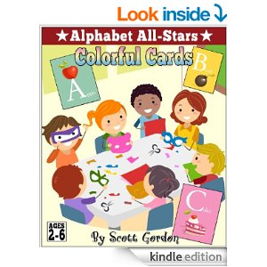 Alphabet All-Stars: Colorful Cards
