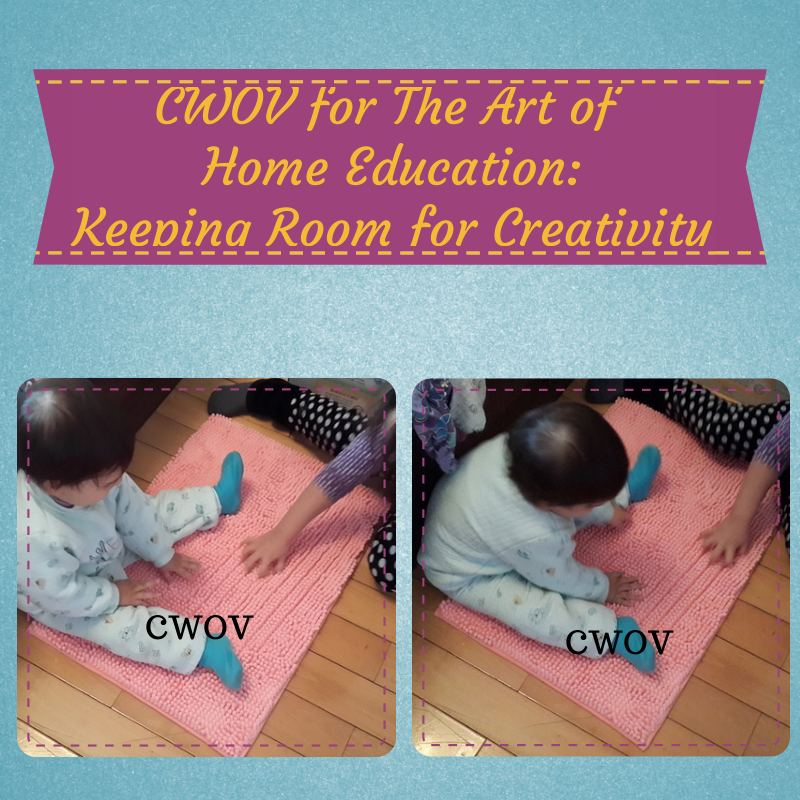 Keeping Room for Creativity http://theartofhomeeducation.com