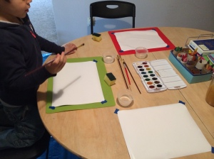 Make your own Art Cart - http://theartofhomeeducation.com