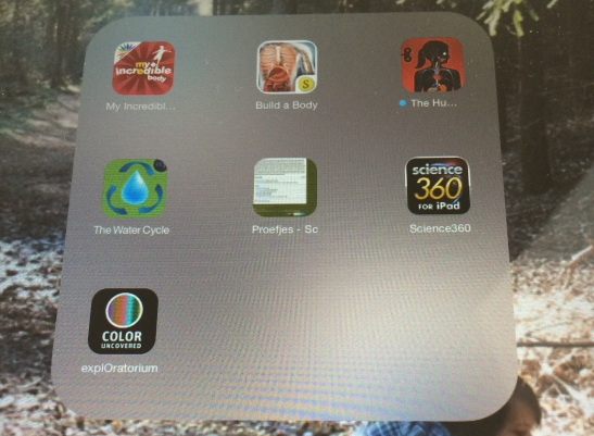 Educational apps for the iPad