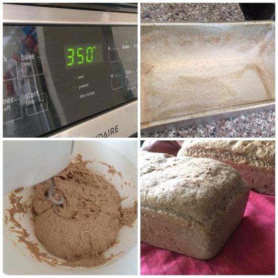 Spelt/Rye Buttermilk Bread